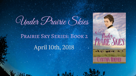 Under Prairie Skies: A Sneak Peek at My New Release