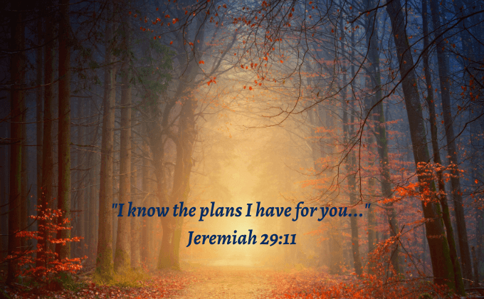 Facing the Unknown ~ God Has a Plan